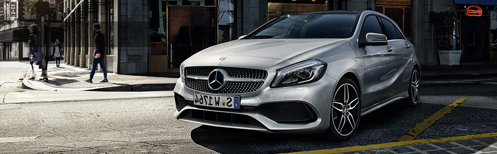 The Mercedes-Benz A160 AMG Line