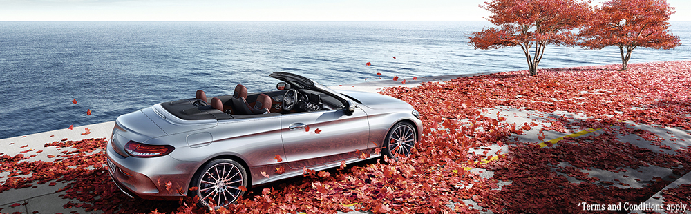 Mercedes-Benz C-Class Cabriolet with 2 years free servicing